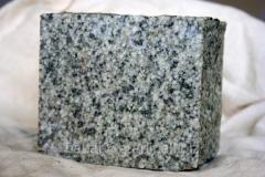 Granite stone, products from granite, a granite