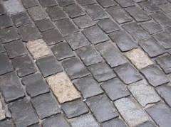 Stones sidewalk from the producer wholesale, a