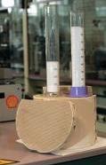 Cylinders, beakers, flasks, test tubes laboratory