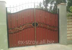 Ворота кованые от украинского производителя,