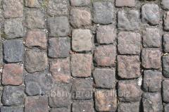 Beautiful stone blocks, stone blocks stylish on