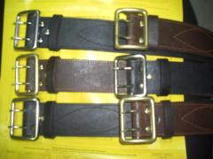 Belts officer leather Ukraine, belts officer from