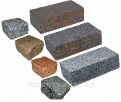 Granite borders, stone road, stones for borders,