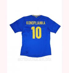 T-shirt of the national team of Ukraine Konoplyank