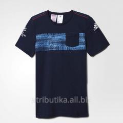 T-shirt sports game children's Adidas UCL
