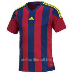 T-shirt sports game Adidas Performance Striped 15,
