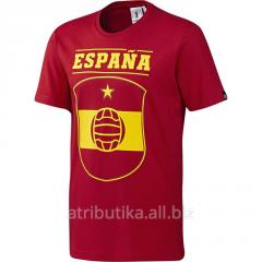 T-shirt training Adidas Spain Tee red x / S05691,
