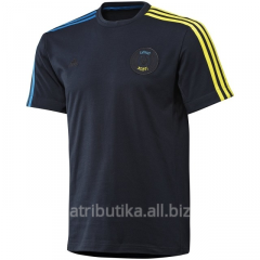 Adidas t-shirt Blue-yellow X12169, art. X12169