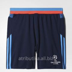Shorts game football children's Adidas UCL