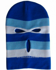 Cap sports - mask blue-white-blue 05, art. 5