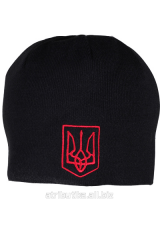 Cap sports Ukraine of Trizub red talv 349, art.