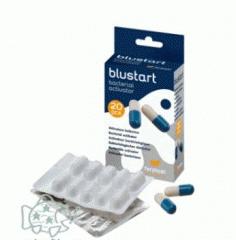 The biological activator in the tablets BLUSTART