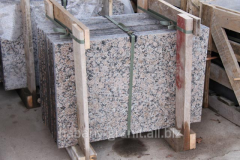 Stone plates for facing of facades to get plates