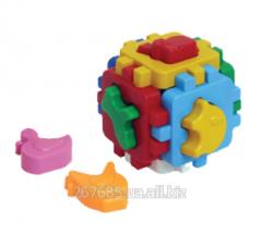Куб «Умный малыш» Домашние животные