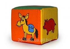 Кубик-погремушка Животные