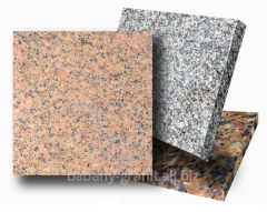The polished granite plates different to get