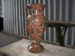 Floor vases from natural granite to get