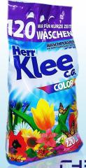 Бесфосфатный порошок для цветного Klee Color 10 кг- 120 стирок