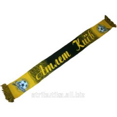 Scarf for fans of the football club Athlete Kiev