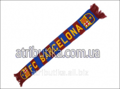 Scarf for fans of football club Barcelona