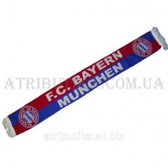 Scarf for fans of football club Bavaria Munich