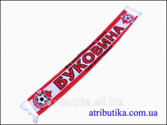 Scarf for fans of football club Bukovina