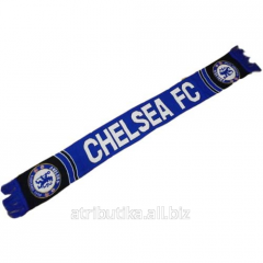 Scarf for fans of football club of Chelsea