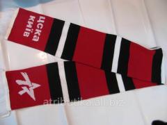 Scarf for fans of football club CSKA Kiev