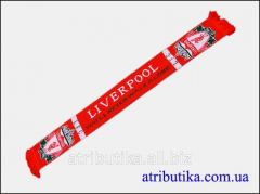 Scarf for fans of football club Liverpool