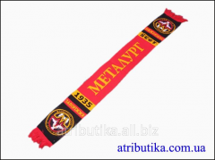 Scarf for fans of the football club Metallurgist