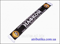 Scarf for fans of football club Nafk Brovary