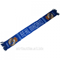 Scarf for fans of the football club Real Madrid