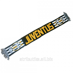 Scarf for fans of the football club Juventus Turin