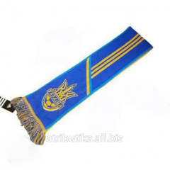 Scarf for fans of the national team of Ukraine