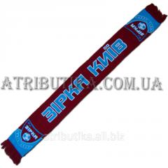 Scarf for fans of football club of Z_rk Ki§v