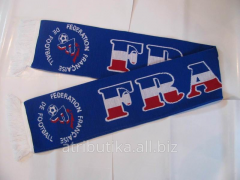 Scarf football for fans of French national team