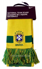 Nike scarf for fans of Brazilian national team on