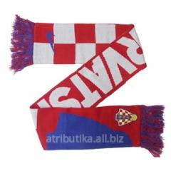 NIKE scarf for fans of football club Croatia