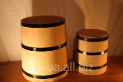 Tub for pickles of the conical BARRELS™ form 50l
