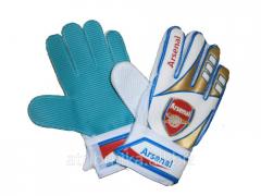 Gloves shooting areas junior Arsenal, art.