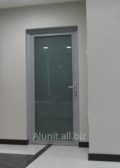 Aluminum doors for office