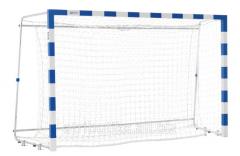 Grid for a football goal (a futsal, handball)
