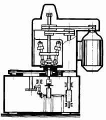 Полуавтомат для закатки пенициллиновых флаконов