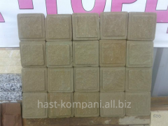 Stone sandstone light-yellow