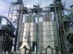 Grain drying complex