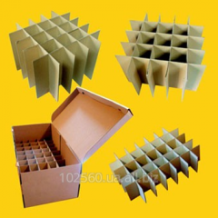 Boxes shipping for glass bottles