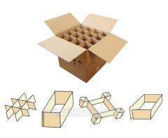 Ящики транспортировочные для водочных изделий
