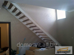 Лестницы в частном доме,  лестница на второй...