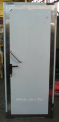 Doors from stainless steel