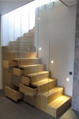 Деревянные лестницы любого конструктива